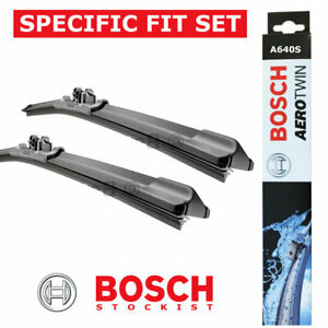 FORD FOCUS III MK3 NEW BOSCH A640S Aerotwin Front Wiper Blades Set