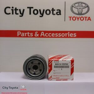 Toyota Genuine Oil Filter Toyota 86 All 90915YZZS2