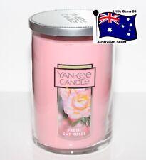 Yankee Candle Large Fresh Cut Roses Cylinder Candle 1125729