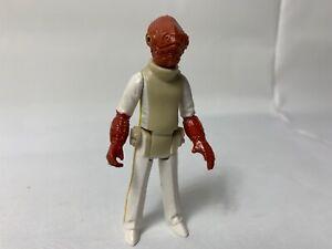 Hasbro Star Wars Return Of The Jedi Admiral Ackbar Action Figure 1 Owner !!!