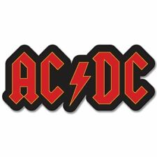 "ACDC AC DC logo Classic Rock Band Vinyl Car Sticker Decal 3"""