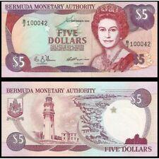 BERMUDA  5 Dollars 1992 UNC P 41 a