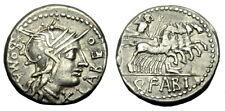 Q FABIUS LABEO AR DENARIUS (N320)