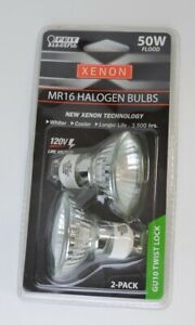 MR16  50 W Feit Electric Xenon Halogen GU10 Twist Lock 120V