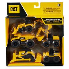 CAT 82150 Little Machines Construction Vehicles - Yellow (set of 5)