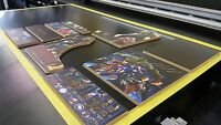 "3/4"" mdf Bartop-Arcade-Cabinet-Diy KIT Slots for TMolding Cut out"