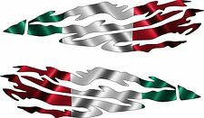 Mexico FLAG Boat Car Truck Trailer Graphics Decals Racing Flag Stickers Wrap