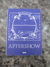 The Tragically Hip - World Tour 1991 - Aftershow Backstage Pass