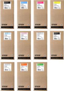 11 x Original Tinte Epson Stylus Pro 7900 9900 Spectro / T5961 -T5969 Cartridges