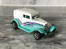 Hot Wheels Ford Model A Hot Rod White Teal Pink 1988