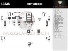 Fits Chrysler 300 2008-2010 Medium Wood Dash Trim Kit