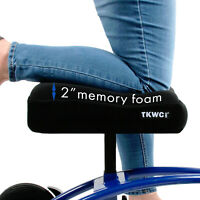 """Knee Scooter Memory Foam by TKWC INC -  2"""" Thick Memory Foam Knee Pad and Cover"""