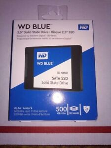500GB Wester Digital Blue SSD Windows 10 Pro Already Installed And Activated