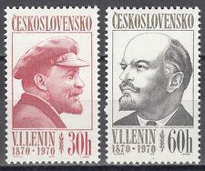 CSSR / Ceskoslovensko Nr. 1939-1940** 100.Geburtstag von Leinin