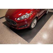 Car Garage Flooring Heavy Duty Diamond Plate Rubber Anti Slip Vehicle Mat 4x6 Ft