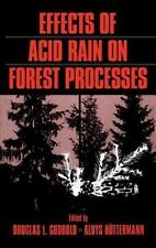 Effects of Acid Rain on Forest Processes-ExLibrary
