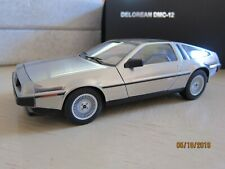 79911 Autoart Signature Delorean Dmc-12 Satin Finish 1:18