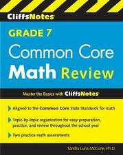 CliffsNotes Grade 7 Common Core Math Review (Cliffnotes)