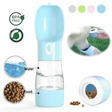 Dog Cat Portable Travel Drinking water Bottle for Pet feeder Leakage proof Bowl