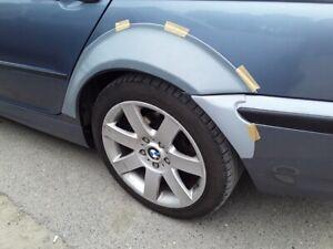 e46 sedan m3 rear archs fenders