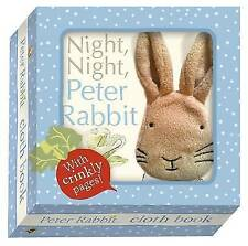 Night Night Peter Rabbit by Beatrix Potter (Rag book, 2013)