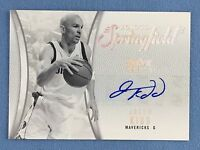 2008-09 Hot Prospects Road To Springfield Jason Kidd Autograph Card 1/1 HOF-JK