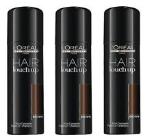3 x Loreal Hair Touch Up brown 75 ml Graukaschierung Grauabdeckung