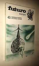 FUTURO EUROPA # 45 RASSEGNA EUROPEA SCIENCE FICTION - PERSEO LIBRI