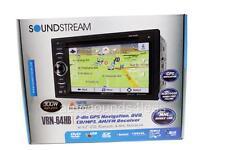 Soundstream Vrn-64Hb Dvd/Cd/Mp3 Player 6.2� Touchscreen Gps Navigation Bluetooth