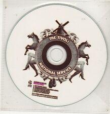 (GC700) The Tivoli, National Service sampler - 2008 DJ CD