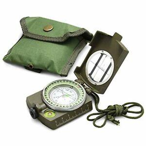 Military, Army Compass Waterproof Lensatic Prismatic Duke of Edinburgh's Compass