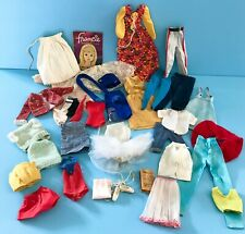 Vintage 1960's to 1970's Mattel Barbie & Skipper Doll Clothes Lot Some Tagged