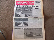Motoring News 17 January 1974 Argentine GP Bergslags Rally Datsun Shoo Samuri