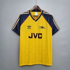 1988-91 Arsenal Away Shirt In All Sizes By Adidas S M L XL XXL