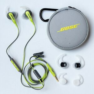 Bose SoundSport Wired In Ear Headphones Green for Android 743729-0010