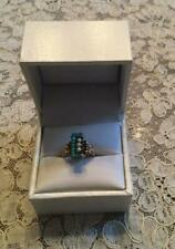 Ring W/ Turquoise & Pearl Size 4 Lovely Gold 2.7 Grams Antique Victorian Ladies