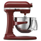 NEW KitchenAid 600 Big Capacity 6-Quart Pro Stand Mixer Silver & Gloss Cinnamon