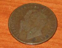 10 Centesimi Regno D'Italia 1866 Vittorio Emanuele II BIRMINGHAM  n. 826