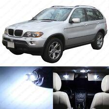 19 x Error Free White LED Interior Light Package For 2000-2006 BMW X5 Series E53