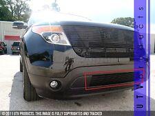 GTG 2011 - 2015 Ford Explorer 1PC Gloss Black Overlay Bumper Billet Grille Grill
