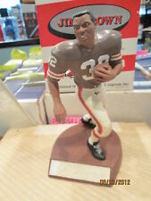 Jim Brown Cleveland Browns Salvino Hand Signed Autograph figurine very limited