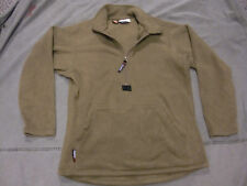 Small USMC Polartec 100 Fleece Pullover Jacket Coyote Brown (Excellent)