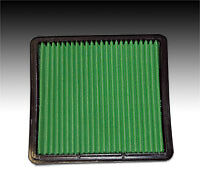05-10 Ford Mustang 4.0L & 4.6L Green High Flow Air Filter #2404