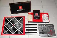 RED SEVEN - Editrice Giochi 1981 OTTIMO e completo Scarabeo Scrabble