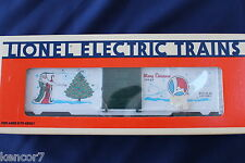 1996 Lionel 6-19945 Holiday Box Car Merry Christmas New L3130