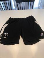 Game Worn Used Adidas Kansas Jayhawks Basketball Tub Shorts 2XL Landen Lucas