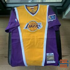 Authentic Mitchell & Ness 1996-97 Los Angeles Lakers Shooting Shirt