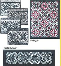 Black and White Delight quilt pattern by Heidi Pridemore for Quilt Woman