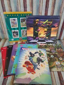 Vintage 1994 Mead Trapper Keeper Designer Series With Folders/ Portfolio