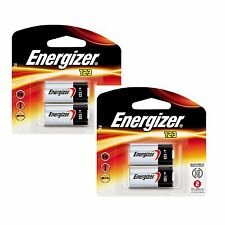 4 X Energizer Cr123a Batteries Cr123 123 3v Lithium Photo Battery